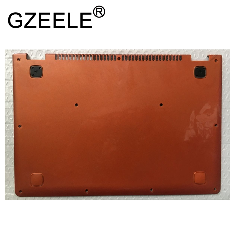 GZEELE New for Lenovo for Thinkpad Yoga 11S Bottom Base Cover Lower Case Shell 90202821 Orange AP0SS000400 silver AP0T4000110 new original for lenovo thinkpad yoga 260 bottom base cover lower case silver