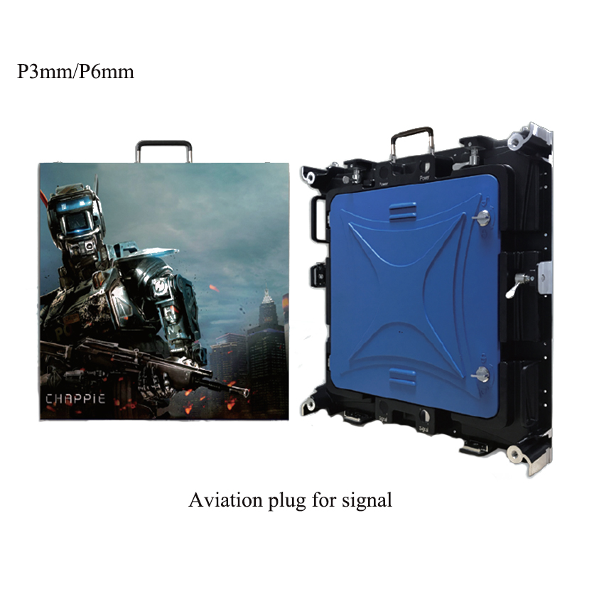 P3mm Indoor LED Display Screen 576x576mm Die Casting Aluminum Cabinet Rental Video Wall For StageP3mm Indoor LED Display Screen 576x576mm Die Casting Aluminum Cabinet Rental Video Wall For Stage