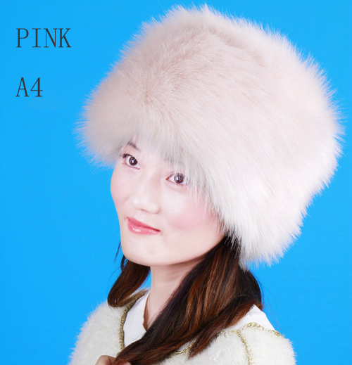 Donna Salyers  Fabulous Furs Russian Hat Faux fox Fur Winter hat for women  with faux fox fur hats 2015 new caps-in Skullies   Beanies from Apparel ... 1d1a4d0e9d10