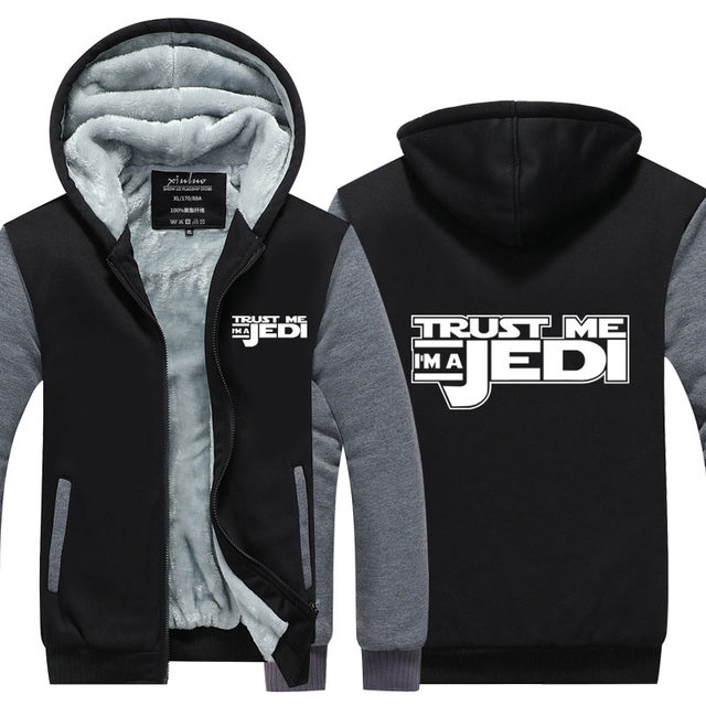 Star Wars Trust Me I'm A Jedi Hooded Jacket