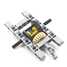 MOC blocks Technic Parts 1SET FRAMED DIFFERENTIAL GEAR SET Kit Pack Chassis Part Compatible With Lego
