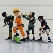 4Pcs Anime Naruto Action Figure Collection