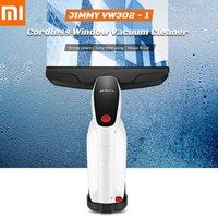 Original XIAOMI JIMMY VW302 1 Cordless Window Glass Vacuum Cleaner With Squeegee Spray Bottle 100ml Water Tank For House Car