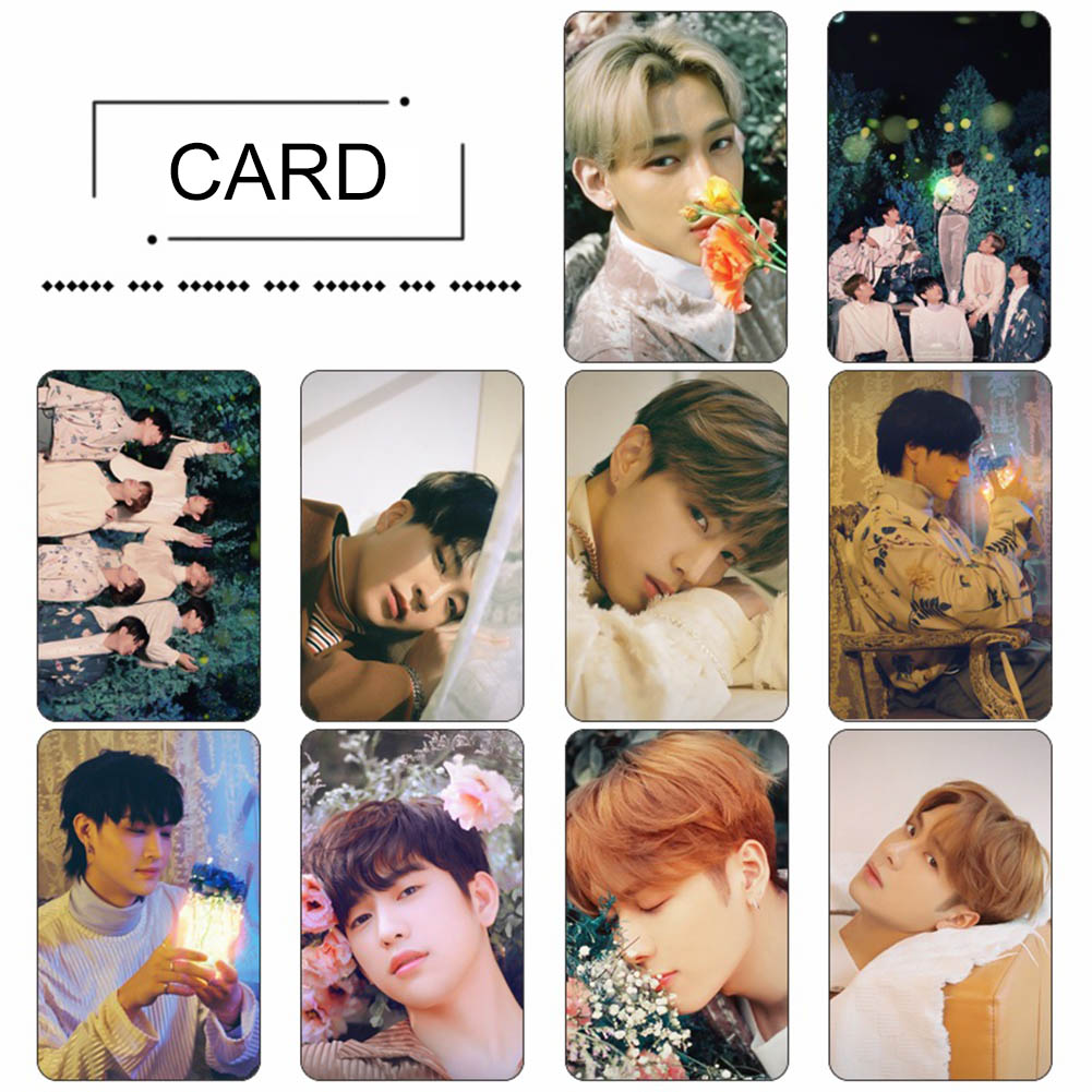 School & Educational Supplies Office & School Supplies 10pcs/lot Kpop Got7 Album Photo Card School Office Fans Crystal Card Sticker Finely Processed