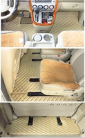 High quality mats! Full set car floor mats + trunk mat for KIA Carnival 7 8 seats 2014 2004 waterproof carpets for Carnival 2008