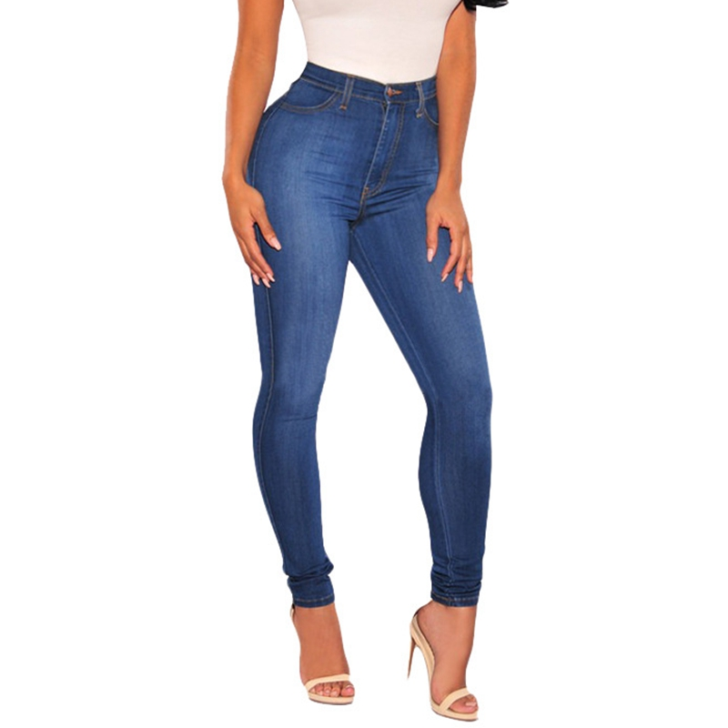 Blue skinny jeans h&m