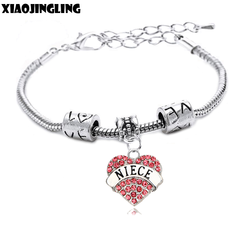XIAOJINGLING Crystal Handmade Bracelet Fashion Bracelets
