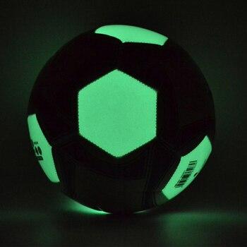 Erwachsene Leuchtenden Fußball Nacht Licht Nachtleuchtende Fußball Kinder Spiel Zug Lumineszenz Bälle Männer Frauen Glowing Fußball größe 4 5