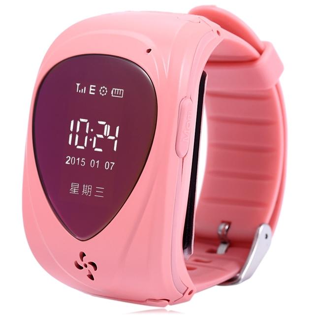 2016 Chegam Novas Crianças Resistentes À Água T18 Smartwatch com Botão SOS Anti-lost Segurança Monitor Suporte iOS Android