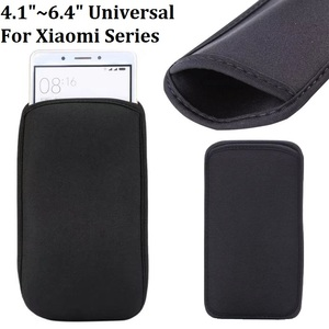 """4.1""""~6.4"""" inch Elastic Neoprene Pouch Bag Sleeve Case For Xiaomi Redmi K30 K20 Pro Note 8T 8 Pro 8A MI CC9 Pro CC9E 9T Pro 9 SE(China)"""