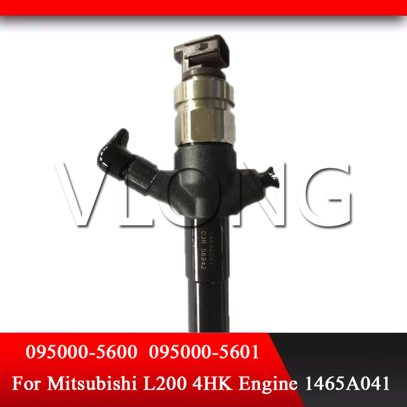1465A041 095000-5600 rail fuel injector for Mitsubishi L200 4D56 engine