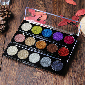 IMAGIC Glitter Eye Shadow  Bright Rainbow Pearl granules Glitters Diamond EyeShadows Cosmetic Make up Eyeshadows