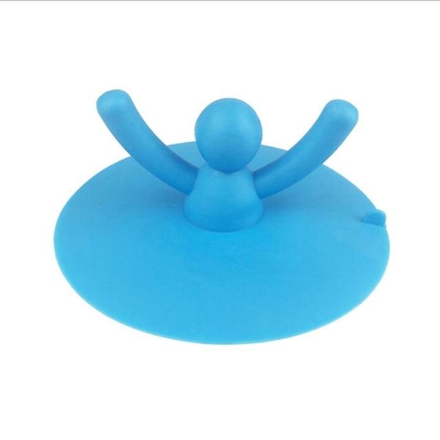 1 PZ!!! Creative Bagno Prodotti da bagno di Gomma Acqua Tappo A Forma di Mano La