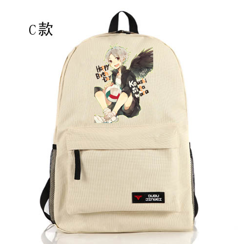 Anime Haikyuu Cosplay Hinata Syouyou Cos Anime around school bags cartoon men and women backpack child birthday gift