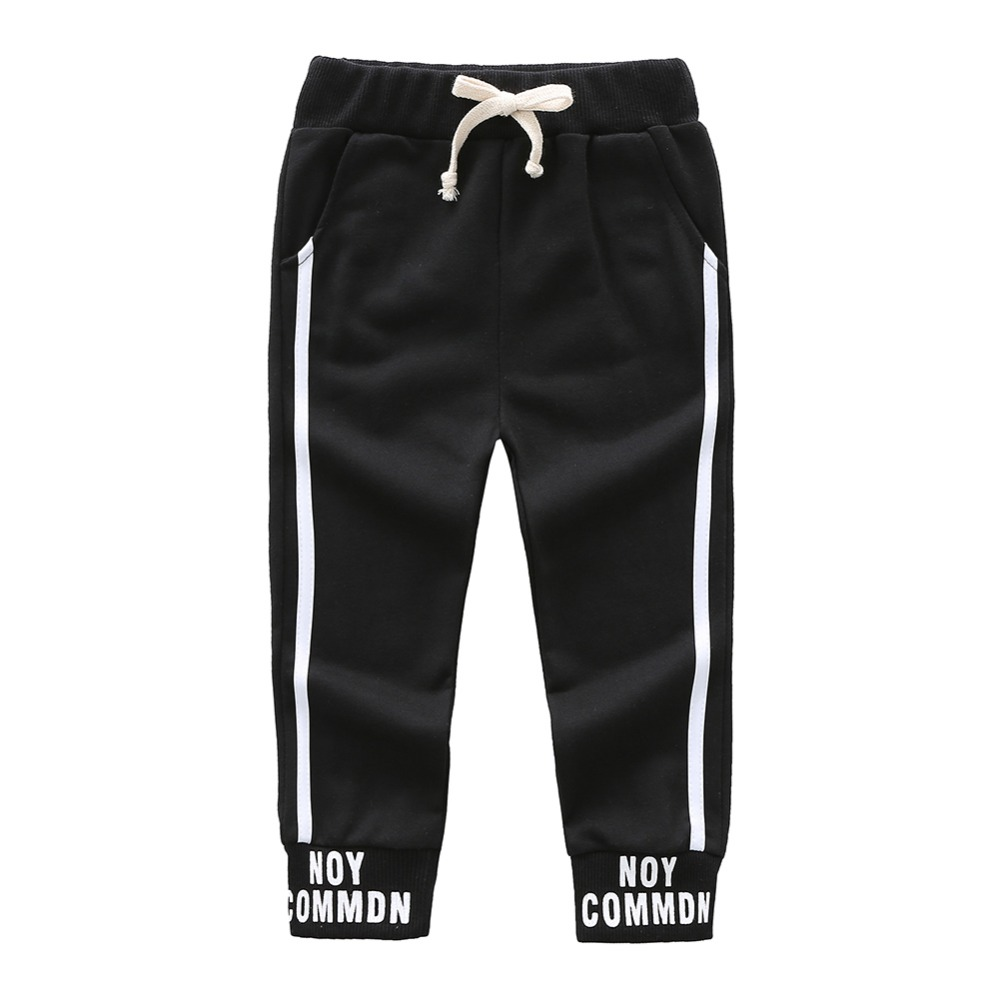 Spring Boys Casual Pant Toddlers Infant Kids Letter Print Pants Baby Boys Long Pants Sports Pant Trousers for Boys(China)
