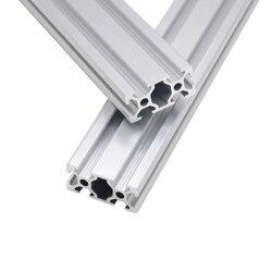 CNC 3D принтер, детали 2040 алюминиевый профиль, европейский стандарт, анодированный линейный рельсовый алюминиевый профиль 2040 Экструзионная ...