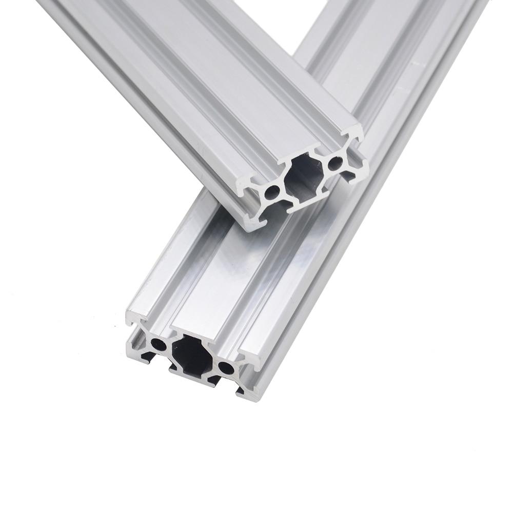 CNC 3D Printer Parts 2040 Aluminum Profile European Standard Anodized Linear Rail Aluminum Profile 2040 Extrusion 2040 Cnc Part