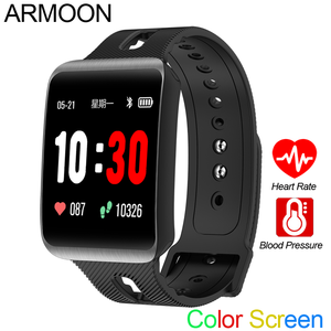 Image 1 - Smart Sport Watch GT98 Heart Rate Men Women Color Bracelet Blood Pressure Fitness Tracker Android IOS Activity Call Message Band