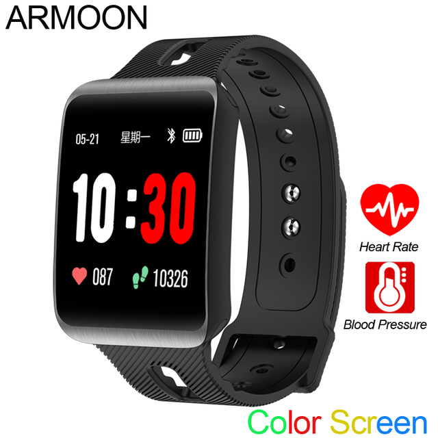 Smart Sport Watch GT98 Heart Rate Men Women Color Bracelet Blood Pressure Fitness Tracker Android IOS Activity Call Message Band