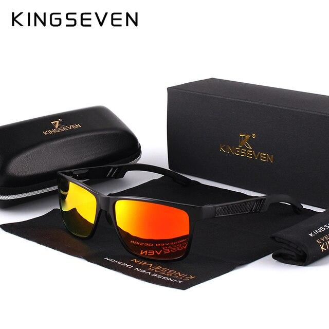KINGSEVEN Men's Polarized Sunglasses 2
