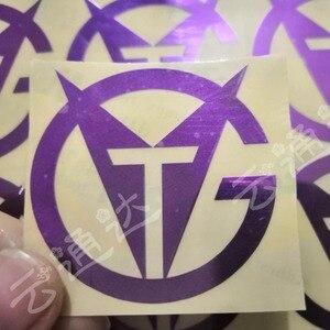 Image 5 - Металлическая Наклейка на заказ, логотип с именем, роскошные самоклеящиеся металлические очки наклейки в бутылке, рельефная металлическая наклейка на этикетку, пластик