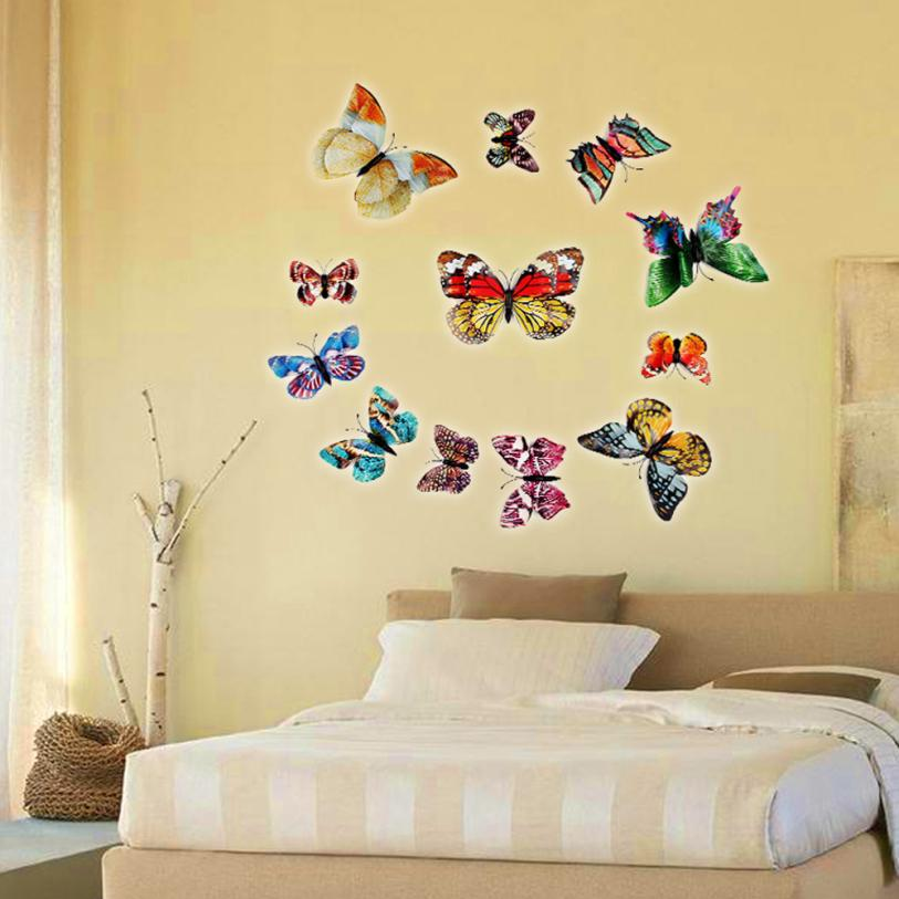 Old Fashioned How To Make A Butterfly Wall Decoration Illustration ...