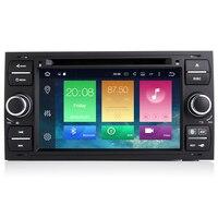 Android 8,0 два Din 7 дюймов dvd плеер автомобиля для Ford/Focus/Mondeo Kuga 8 ядер 4 ГБ Оперативная память 32 г Встроенная память 3g/4 г Wi Fi gps навигации радио