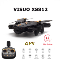 VISUO Newest GPS RC Drone 2MP/5MP HD Camera 5G WIFI FPV Altitude Hold One Key Return RC Quadcopter Helicopter VS E58 X12 XS809S