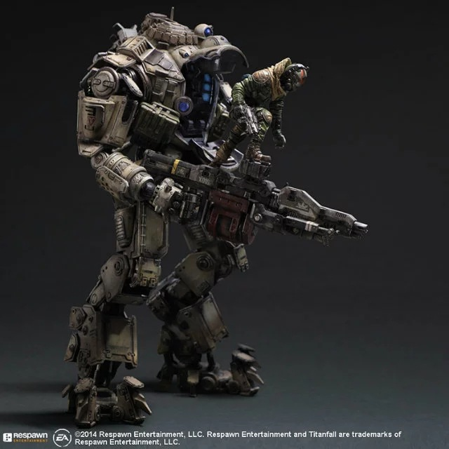 PIay Arts 26cm Titanfall Atlas Boxed PVC Action Figure Collectible Model Toy alen 2017 new play arts 27cm titanfall atlas boxed pvc action figure collectible model toy