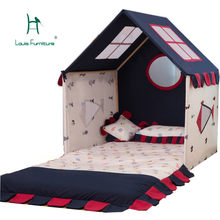 Louis Fashion Children Beds Tent Home Toys Home Dolls Small House Indoor Boy's Game House(China)