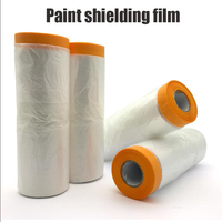 Paint Shielding Film Protective Film Of Automobile Cosmetic Spray Paint Protective Film For Floor And Wall Of House Decoration