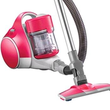 Бытовые большой всасывания горизонтальный пылесос низкая Шум этаж Sweeper с телескопической штанги 1200 Вт 220 В розовый