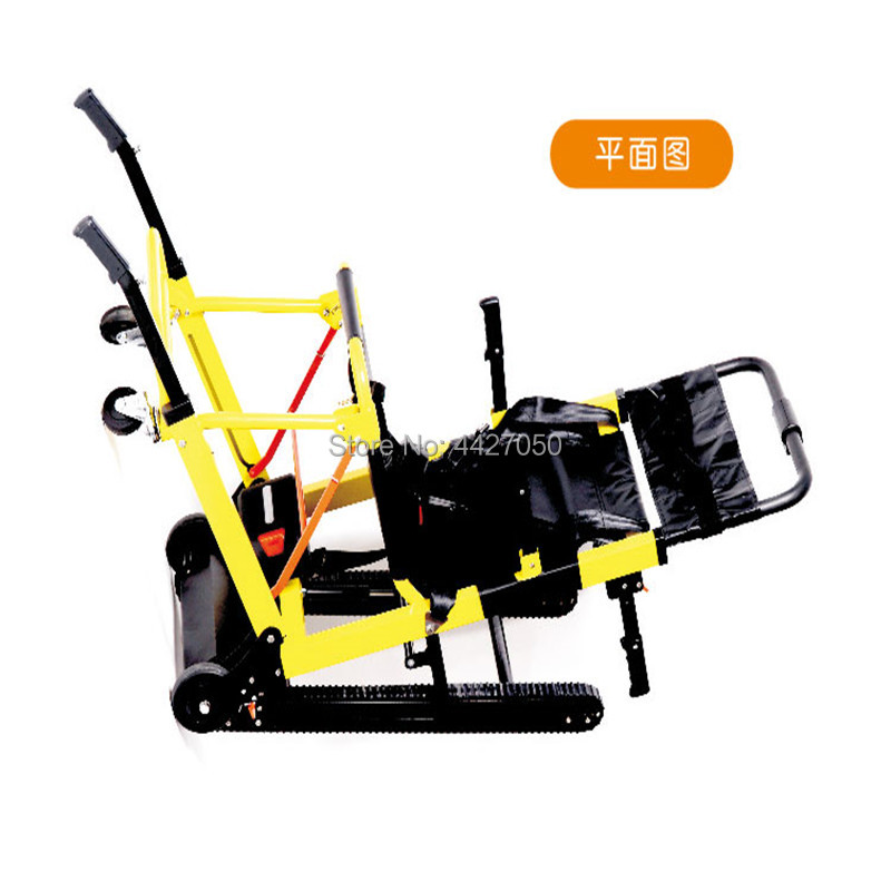 Lightweight portable folding climbing stairs electric font b wheelchair b font for font b disabled b