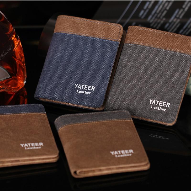 Wallet Purses Men Wallets Carteira Masculine Billeteras Porte Monnaie Monedero Famous Brand Male Mens Walet 2018 New Arrive