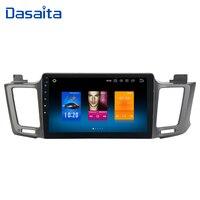 Dasaita 10.2 Android 8.0 Car GPS Radio Player for Toyota RAV4 2014 2015 2016 with Octa Core 4GB+32GB Auto Stereo Multimedia
