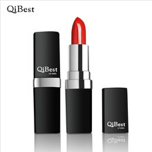 Qibest 12 Colors Brand Professional Lipsticks  Makeup Long-lasting Wear Matte Lip Stick Purple Pink Red Vampire  Party  4166
