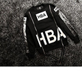 HBA Black 2017 New Hoodies Men Brand Designer Mens Sweatshirt Men in Mens Hoodies Street clothing Tide card C220
