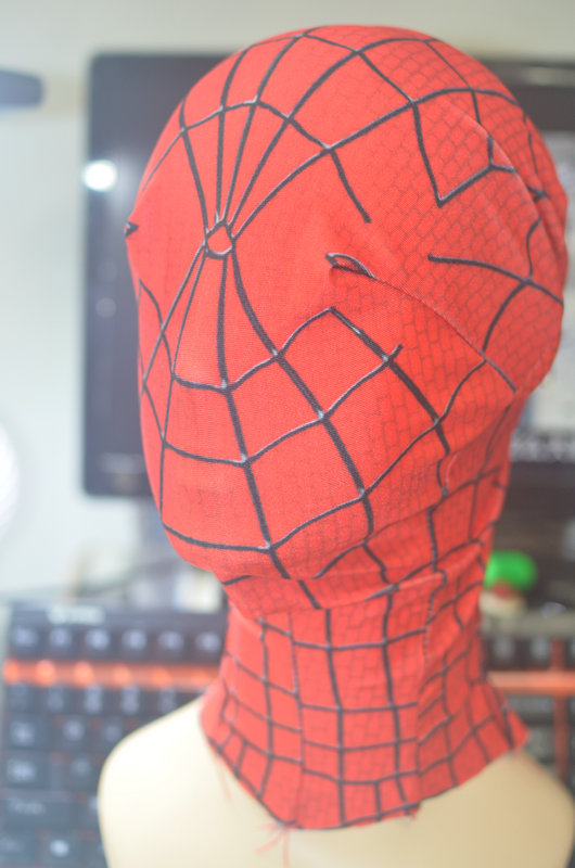 (HD11) Avengers Black/Red Spiderman Super Hero Headood for Women Men Kids Classic Halloween Spiderman Costumes