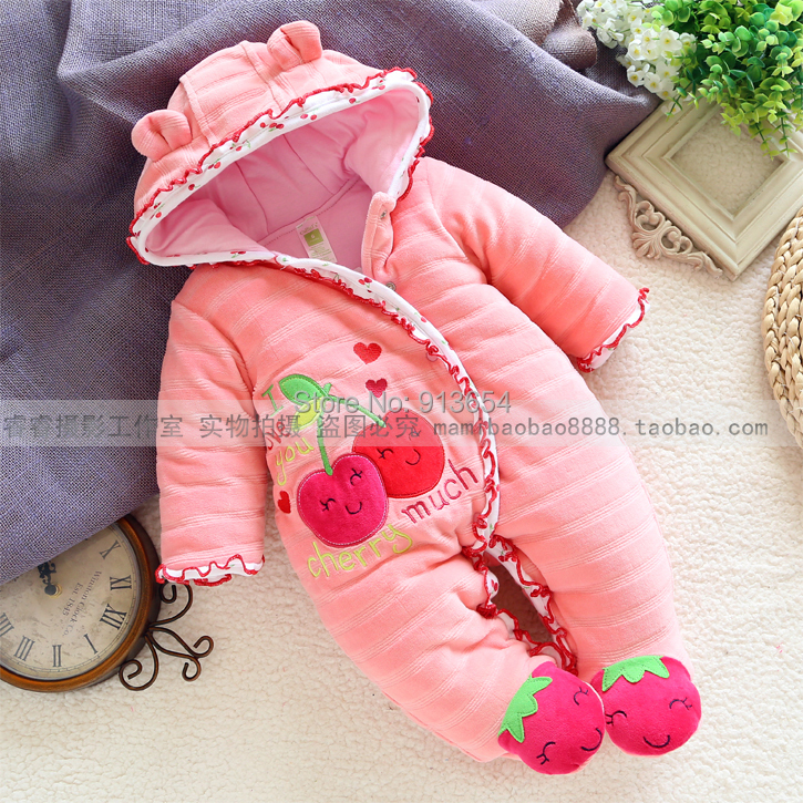 new 2016 autumn Winter romper baby clothing baby girl cute rompers kids cotton overall newborn warm jumpsuit baby wear newborn baby rompers baby clothing 100% cotton infant jumpsuit ropa bebe long sleeve girl boys rompers costumes baby romper