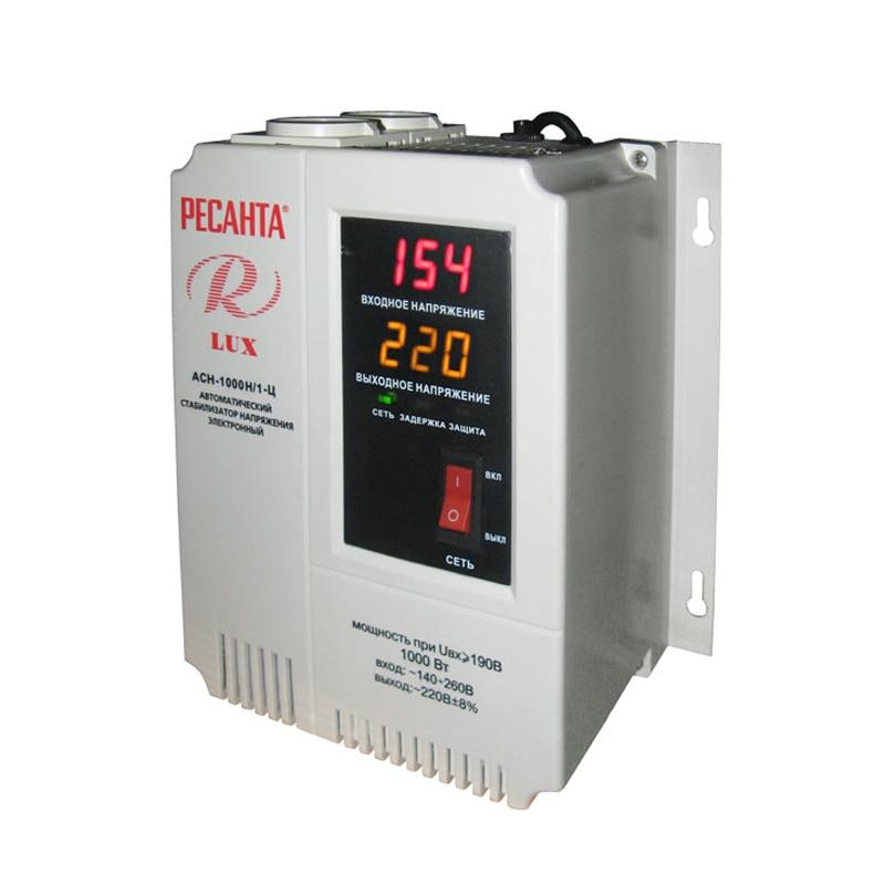 Voltage stabilizer RESANTA ASN-1000 N/1-C cxa 0247 pcu p052d tdk lcd inverter high voltage switchboard