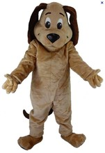 Factory direct sale TAN DOG MASCOT HEAD Costume Animal Theme Costumes free shipping