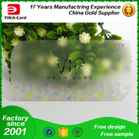 Free Shipping To USA By UPS Clear Frosted Business Cards Transparent Plastic Business Cards