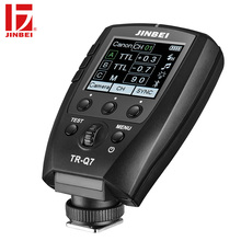 лучшая цена JINBEI TR-Q7 Flash HSS Trigger for Canon Nikon Sony Fuji Olympus Panasonic Radio Photography Light Wireless Remote Transmitter