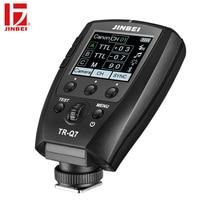 JINBEI TR Q7 Flash HSS Trigger for Canon Nikon Sony Fuji Olympus Panasonic Radio Photography Light Wireless Remote Transmitter
