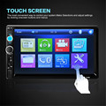 Car-styling 7'' HD Bluetooth Touch Screen Car Stereo Radio 2 DIN FM/MP5/MP3/USB/AUX