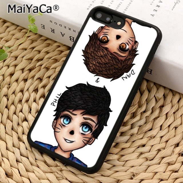 Us 2 98 25 Off Maiyaca Anime Dan And Phil Phone Case Cover For Iphone 5 5s Se 6 6s 7 8 X Xr Xs Max Samsung Galaxy S5 S6 S7 Edge S8 S9 Plus In Fitted