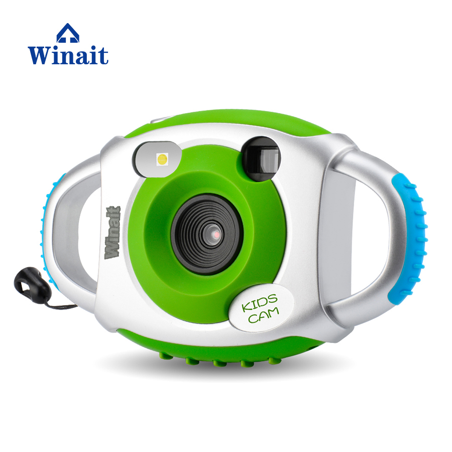 Winait Brand Mini Kids Camera Full HD 1080P Child Toy Hand Free Children Cameras 1.44 LCD Display Micro SD Card Slot