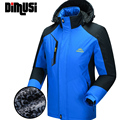 DIMUSI 2016 Winter Down Jacket Men Thick Warm thermal Parkas jacket coat Male Waterproof  Hoodies Men Windbreaker jaqueta,YA548