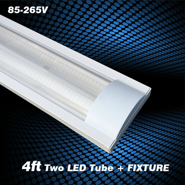 4ft 40w Explosion Proof Two Led Tube Lights Stripe Cover Replace