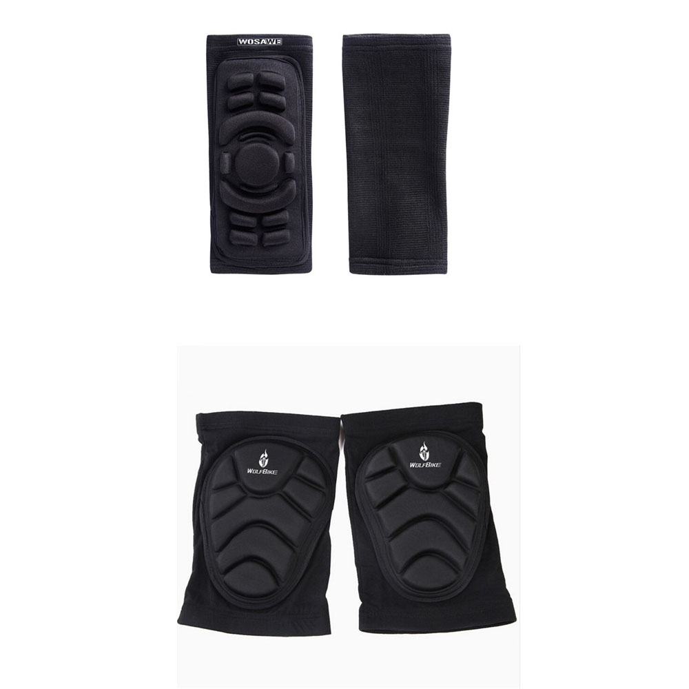 Elbow Knee Braces Pads Guard Protection Support Gear Motor